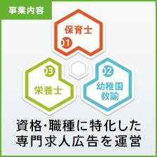 [事業内容]保育士・幼稚園教諭・栄養士